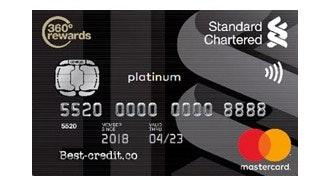 Standard Chartered MasterCard Platinum