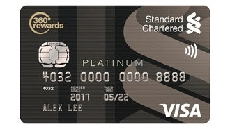 Standard Chartered VISA Platinum