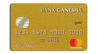 Bank Ganesha Mastercard Gold