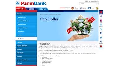 Pan Dollar Panin Bank
