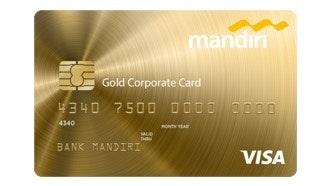 Mandiri Corporate Card Gold