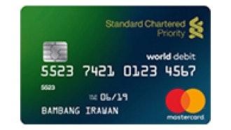 Kartu Debet Priority Standard Chartered