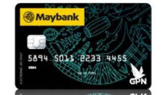 Kartu Debit Maybank GPN