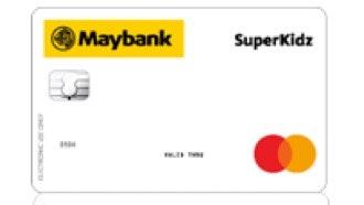 Kartu Debit Maybank SuperKidz