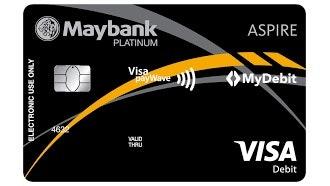 Kartu Debit Maybank Aspire