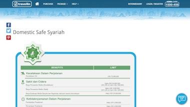 Travellin Domestic Safe Syariah