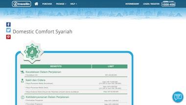 Travellin Domestic Comfort Syariah
