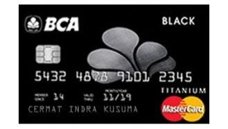 BCA MasterCard Black