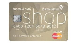 Permata Shopping MasterCard Titanium