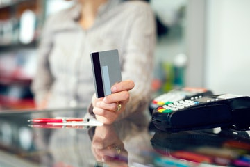 sign credit card