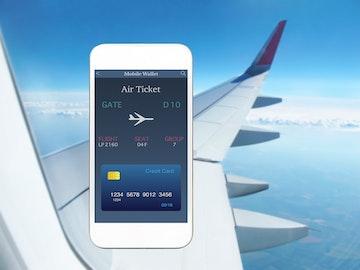 credit card air plane ticket