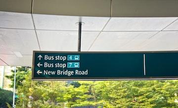bus stop singapore