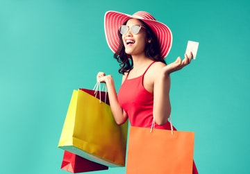 credit card shopper
