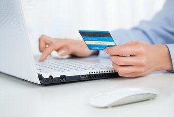 postpone payment by credit card