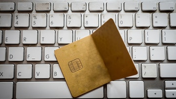 credit card damaged