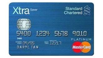 Standard Chartered XtraSaver Debit Card