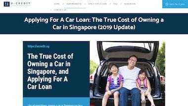U Credit Car Loan