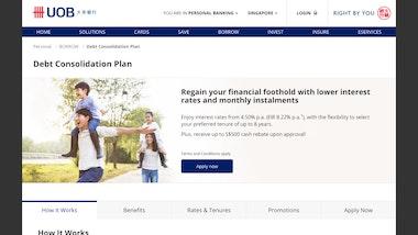 UOB Debt Consolidation Plan