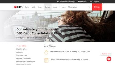 DBS Debt Consolidation Plan