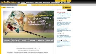 Maybank Debt Consolidation Plan