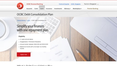 OCBC Debt Consolidation Plan