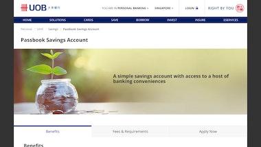 UOB Passbook Savings Account