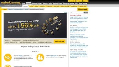 Maybank iSAVvy Savings Plus Account