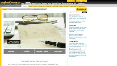 Maybank Passbook Savings Account