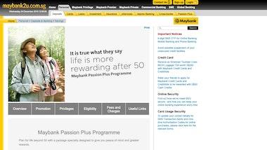 Maybank Passion Plus Programme