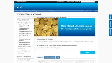 Citibank Step-Up Account