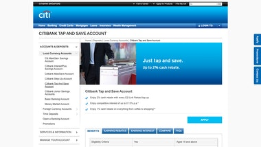 Citibank Tap and Save Account
