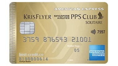 American Express Singapore Airlines Solitaire PPS Credit Card
