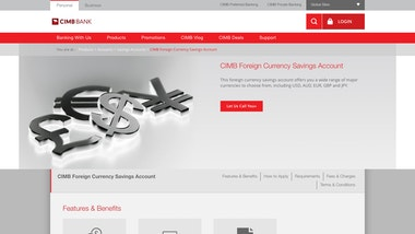 CIMB Foreign Currency Savings Account