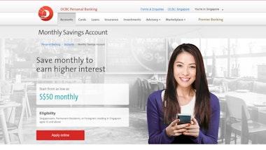 OCBC Monthly Savings Account