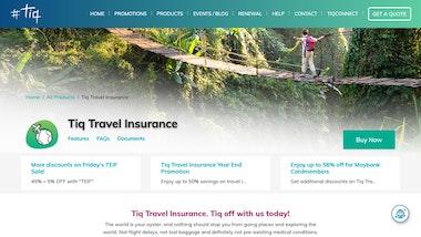 Tiq Travel Insurance