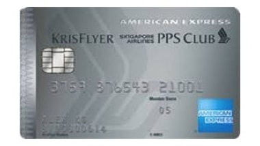 American Express Singapore Airlines PPS Club Credit Card