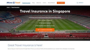 Allianz Single Trip Travel Insurance