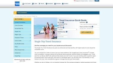 American Express VoyageGuard Travel Insurance Standard Plans