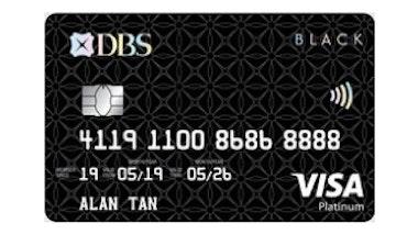 DBS Black VISA Card