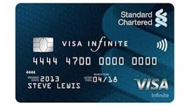Standard Chartered VISA Infinite