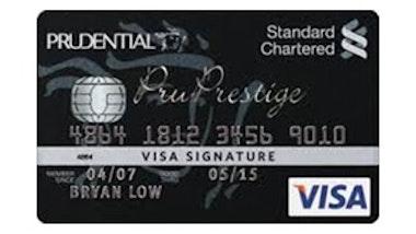 Standard Chartered PruPrestige VISA Signature Card