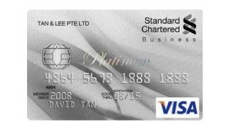 Standard Chartered Business Platinum Card