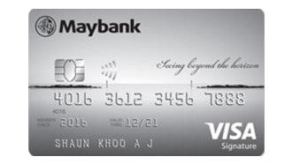 Maybank Horizon Visa Signature Card