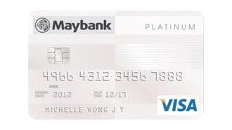 Maybank Platinum VISA Card