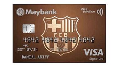 Maybank FC Barcelona VISA Signature Card