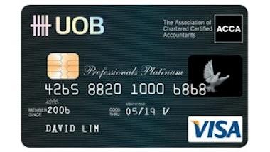 UOB Professionals Platinum Card