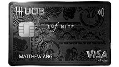 UOB Visa Infinite Metal Card