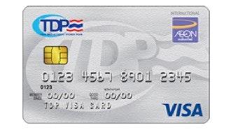 บัตรเครดิต ทีดีพี วีซ่า