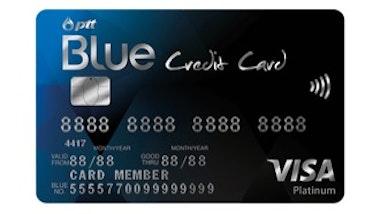 บัตรเครดิต พีทีที บลู