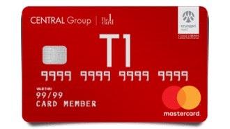 บัตรเครดิตเซ็นทรัล เดอะวัน เรดซ์